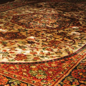 Moroccan Rug; collected by @solotraveler