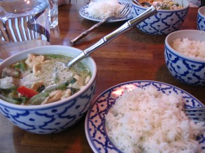 Thai curry at Mai Tai Restaurant, 3rd arrondissement