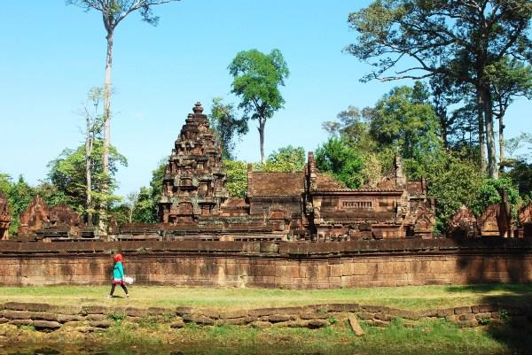 Banteay Srei Temple, Siem Reap, Cambodia.