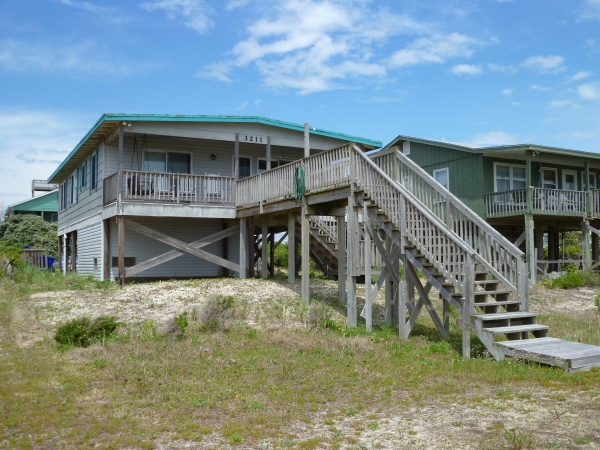 Beach rental in Oak Island, NC.